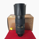 USED-Nikon 80-400mm f4.5-5.6G VR Nano ED Lens,95% Like New Condition With Box,S/N:232604,YL PJ.