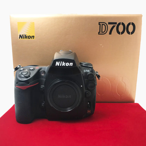 USED-Nikon D700 Camera Body (SC:38K),95% Like New Condition With Box,S/N:2194727,YL PJ