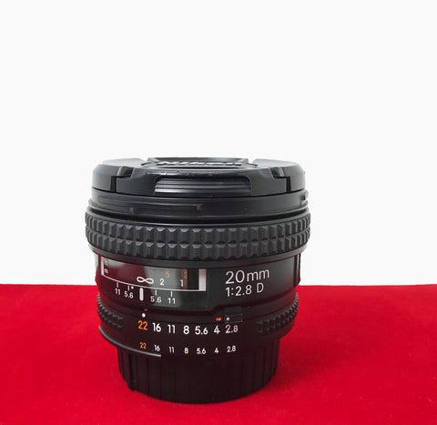 USED-Nikon AF 20MM F2.8D Nikkor Lens,80% Like New Condition,S/N:533228,YL PJ.