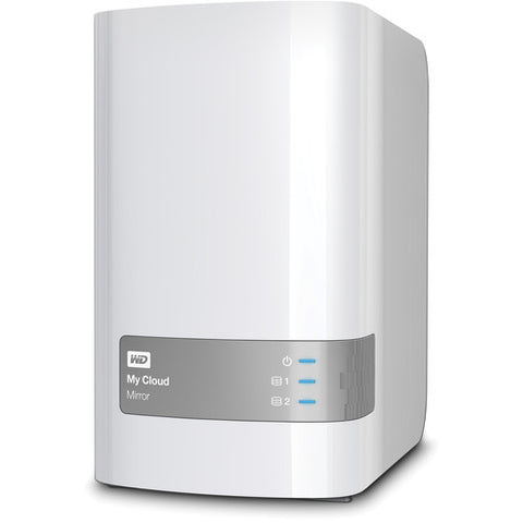 WD Western Digital 4TB My Cloud Mirror External Hard Drive