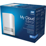 WD Western Digital 8TB My Cloud Mirror External Hard Drive