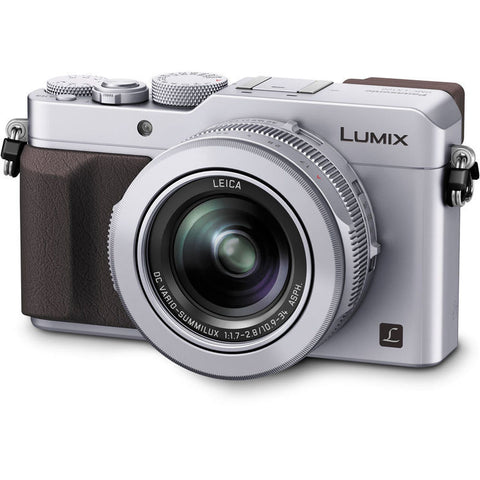 Panasonic DMC-LX100 Digital Camera (Silver)