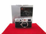 USED-Leica M (TYP 240) Camera Body (Silver),95% Like New Condition With Box,S/N:4444362,YL PJ