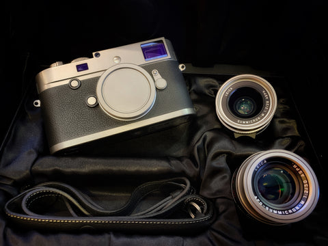 USED-Leica MP 240 Titanium Worldwide Limited 333 Set,YL PJ.