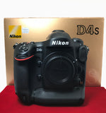 USED-Nikon D4S Camera Body (SC:20K),98% Like New Condition With Box,S/N:2000487,YL PJ.