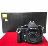 USED-Nikon DF (Black) Body,85% Like New Condition With Box,S/N:8402062,YL PJ.