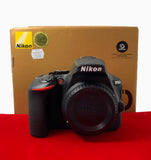 USED-Nikon D5600 Camera Body,99.9% Like New Condition With Box,S/N:8212851,YL PJ.