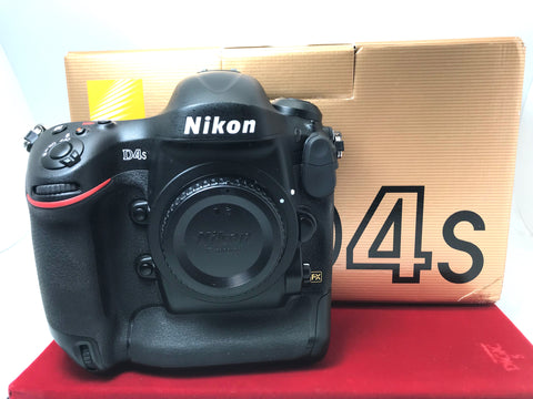 USED- Nikon D4s Camera Body(SC:60K),95% Like New Condition With Box,S/N:2014992,YL PJ