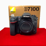 USED-Nikon D7100 Body (SC:81K),80% Like New Condition With Box,S/N:6121656,YL PJ.