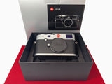 USED-Leica M (Typ 240) Camera Body (Silver),95% Like New Condition With Box,S/N:4445346,YL PJ.