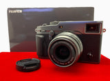 USED-Fujifilm X-PRO 2 With 23MM F2 R WR Lens (Graphite Silver),95% Like New Condition With Box,S/N:71M02040,YL PJ.