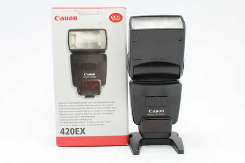 USED- Canon 420EX Speedlite Flash, 85% Like New,SN:051104, YL PUDU