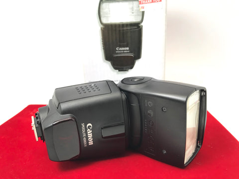 USED- Canon 430EX II Speedlite Flash,95% Like New Condition With Box,S/N:B74172,YL PJ