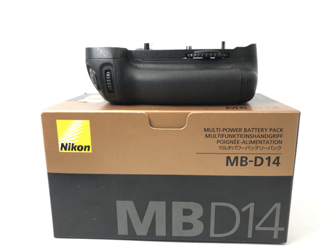USED- Nikon MB-D14 Battery Grip For (D610/D600) Camera,95% Like New Condition With Box,S/N:2027833,YL PJ