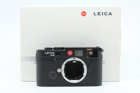 "(NEW) Leica M6 TTL (0.85) Film Rangefinder Camera Body Only (Black), ""New Set"", SN:2595120, YL PUDU"