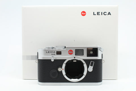 "(NEW) Leica M6 TTL (0.58) Film Rangefinder Camera Body Only (Silver), ""New Set"", SN:2594813, YL PUDU"