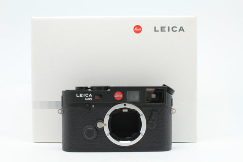 "(NEW) Leica M6 TTL (0.58) Film Rangefinder Camera Body Only (Black), ""New Set"", SN:2721494, YL PUDU"