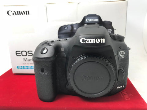 USED- Canon EOS 7D Mark II Body,95% Like New Condition With Box,S/N:018020000145,YL PJ