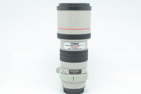 USED- Canon 300mm F4 EF L USM Lens, 88% Like New,SN:121911, YL PUDU