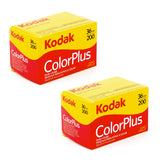 Kodak ColorPlus 200 Color Negative Film (35mm Roll Film) - 2 Packs Film