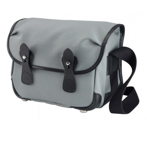 Billingham L2 Shoulder Bag (Grey With Black Leather Trim)