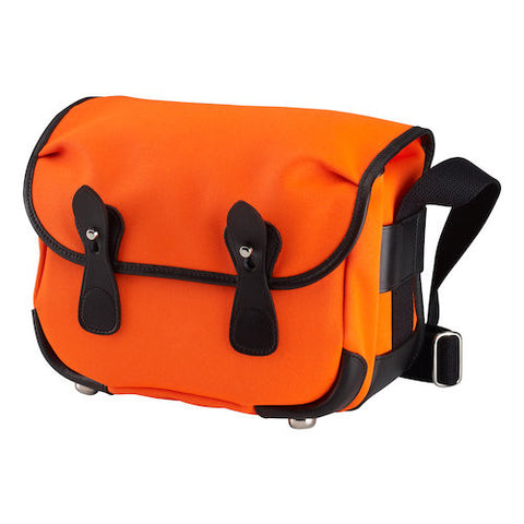 Billingham L2 Shoulder Bag (Neon Orange With Black Leather Trim)
