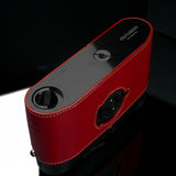 Gariz Leica M6/M7 Black Label Leather Camera Half Case (Red)