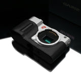 Gariz Leica T Black Label Leather Camera Half Case (Black)