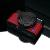 Gariz Leather Skin for Sony RX100 III (Red)