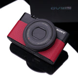 Gariz Leather Skin for Sony RX100 (Red)