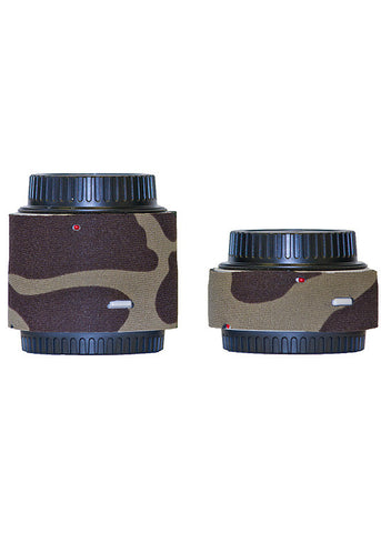 LensCoat Lens Cover (For Canon Teleconverter III Set – Forest Green Camo)