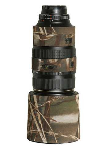 LensCoat Lens Cover (For Nikon 80-400mm VR – Realtree Max4 HD)