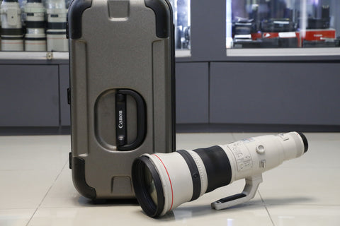 USED- Canon 800mm F5.6 EF IS L USM Lens, 95% Like New,SN:11477, YL PUDU