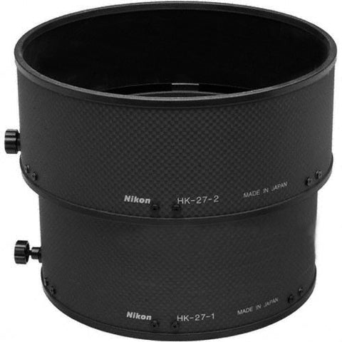 Nikon HK-27 Slip-on Lens Hood for AF-S 400/2 8D II IF-ED (Black)