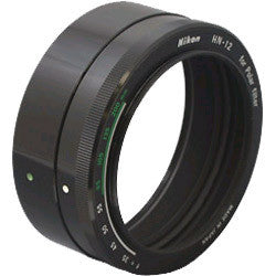 Nikon HN-12 60mm Screw-In Lens Hood for 52mm Polarizer Filter