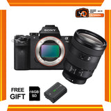 (April PWP Offer) Sony A7 Mark II + FE 24-105mm f/4 G OSS (FREE Sony 16GB SD Card + NP-FW50 Battery)