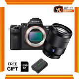 (April PWP Offer) Sony A7 Mark II + FE 24-70mm f/4 ZA OSS (FREE Sony 16GB SD Card + NP-FW50 Battery)