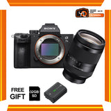 (April PWP Offer) Sony A7 Mark III + FE 24-240mm f/3.5-6.3 OSS (FREE Sony 32GB SD Card + NP-FZ100 Battery)