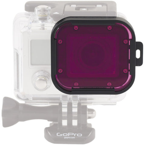 Polar Pro Magenta Dive Filter (For GoPro HERO4 / HERO3+ - Dive Housing)