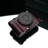 Gariz Sony DSC-RX100 II Leather Camera Half Case (Brown) (Must use with Sony AG-R1 Grip)