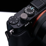 Gariz Metal Soft Button for Sony DSC-RX1 (Copper)