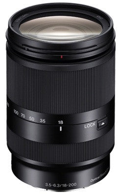 Sony E 18-200mm f/3.5-6.3 LE OSS