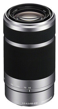 Sony E 55-210mm f/4.5-6.3 OSS (Silver)