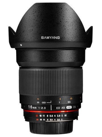 Samyang 16mm F2 ED AS UMC CS (Micro Four Thirds)