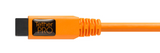 TetherPro FireWire 800/400 9-6 Pin Cable (15ft/4.6m) [Orange] – FW84ORG