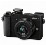 Panasonic DMC-GX9 (Black) + Lumix G Vario 12-32mm f/3.5-5.6 MEGA OIS [Free Camera Case & 16GB SD Card]