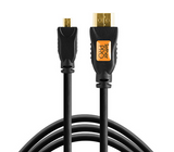 TetherPro HDMI Micro – HDMI Cable (15ft/4.6m) [Black] – TPHDDA15