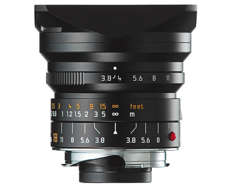 Leica 18mm Super-Elmar-M f/3.8 ASPH (Black) 11649