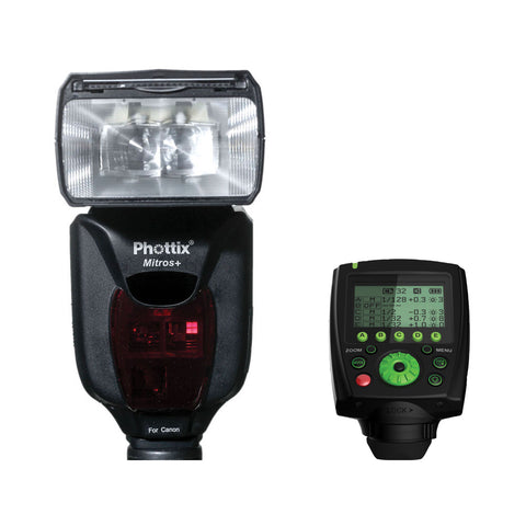 Clearance – Phottix Mitros+ W/ Odin TTL Flash Transmitter (For Canon)