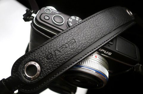 Gariz MirrorLess Camera Neck Strap (Black)